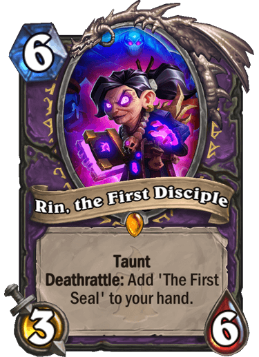 Rin, the First Disciple