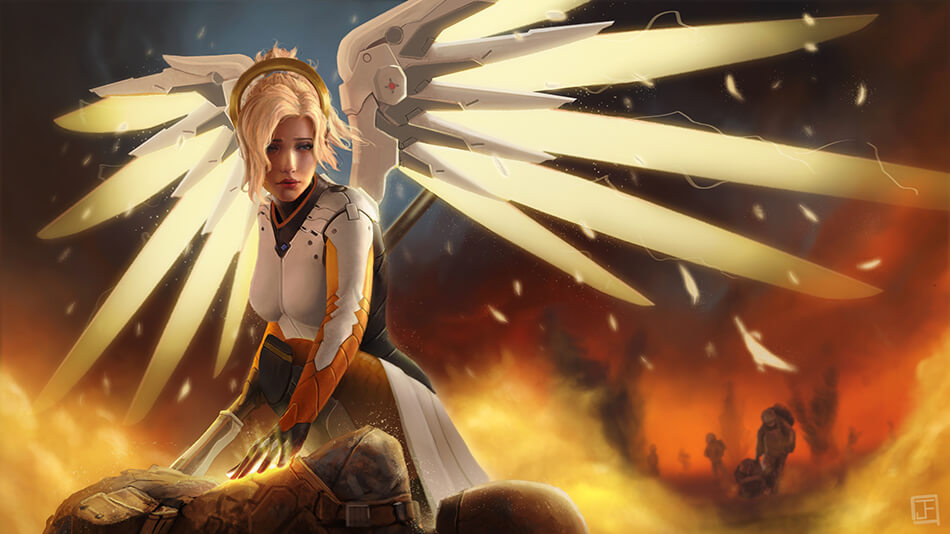 Mercy artwork