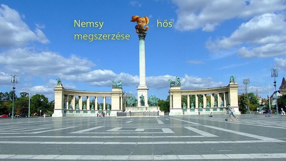 Nemsy megszerzése Budapesten újra a HSHU szervezésében