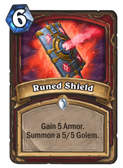 Runed Shield