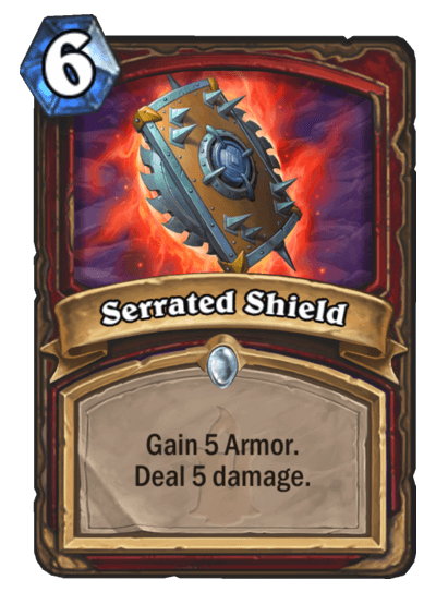 Serrated Shield