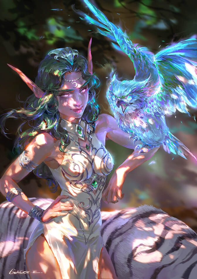 Tyrande artwork