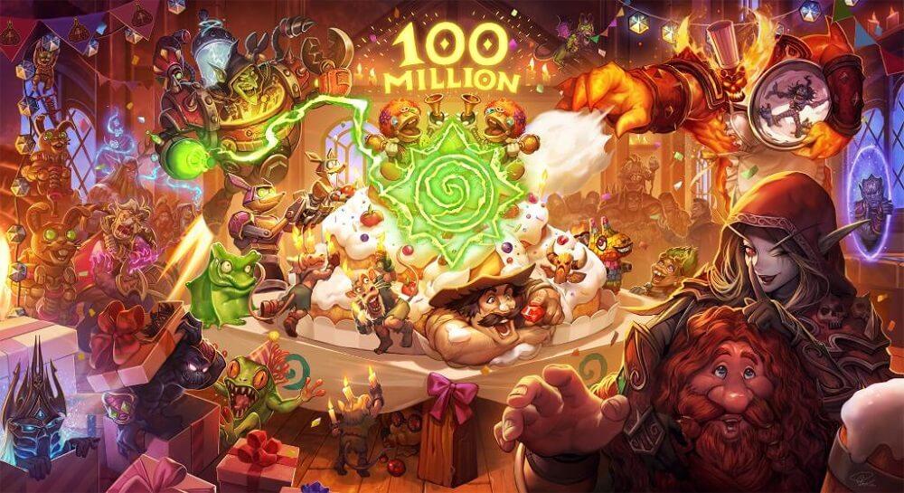 100 millió Hearthstone játékos esemény - Ingyenes kártyacsomagok, sok Gold