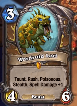 Warlord Loti Wild Fandral Staghelm