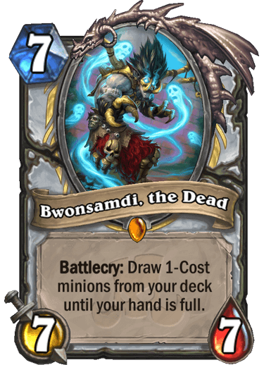 Bwonsadmi, the Dead