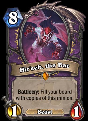 Hireek the Bat