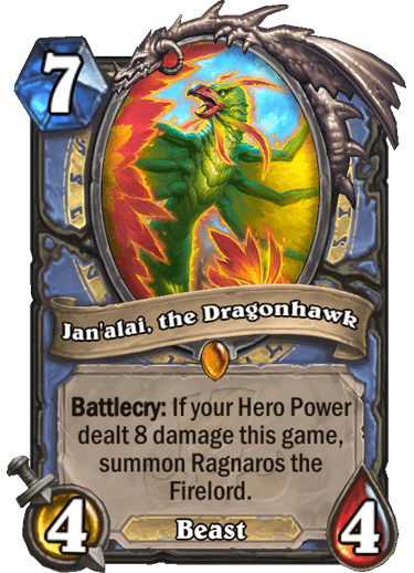 Janali, the Dragonhawk