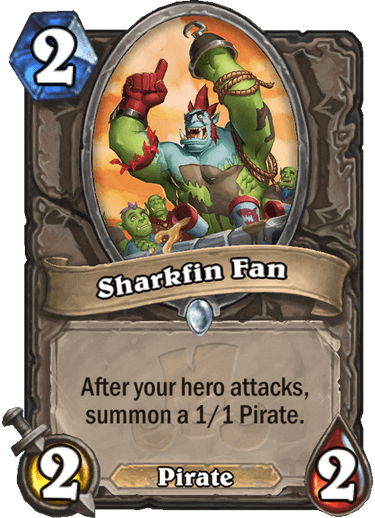 Sharkfin Fan