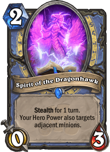 Spirit of the Dragonhawk
