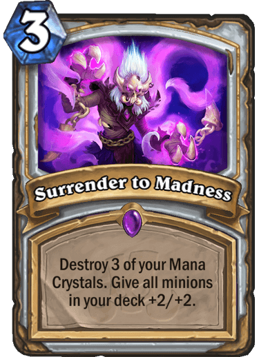 Surrender to Madness
