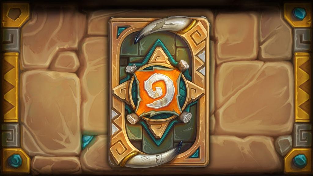 Rumble kártya hátlap Hearthstone
