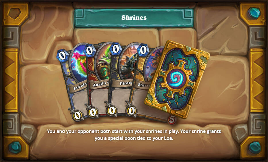 Shrines Hearthstone