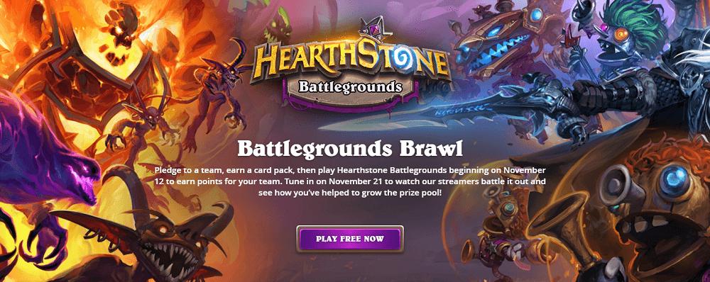 Battlegrounds Brawl verseny