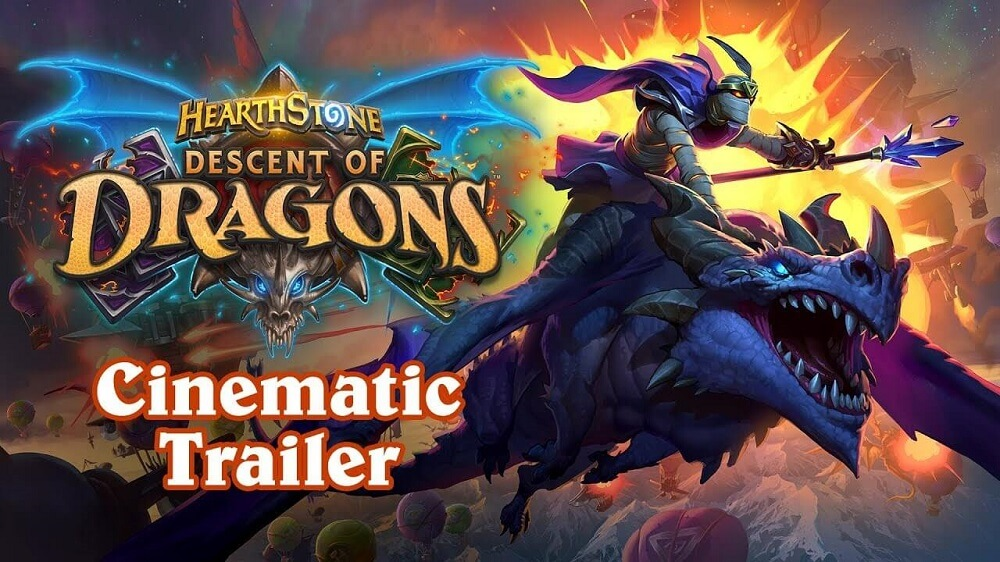 Descent of Dragons Hearthstone Trailer