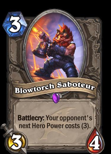 Blowtorch Saboteur