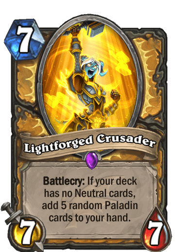 Lightforged Crusader