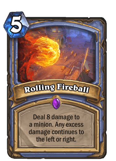 Rolling Fireball