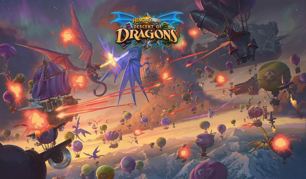 Descent of Dragons artwork