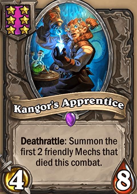 Kangor's Apprentice