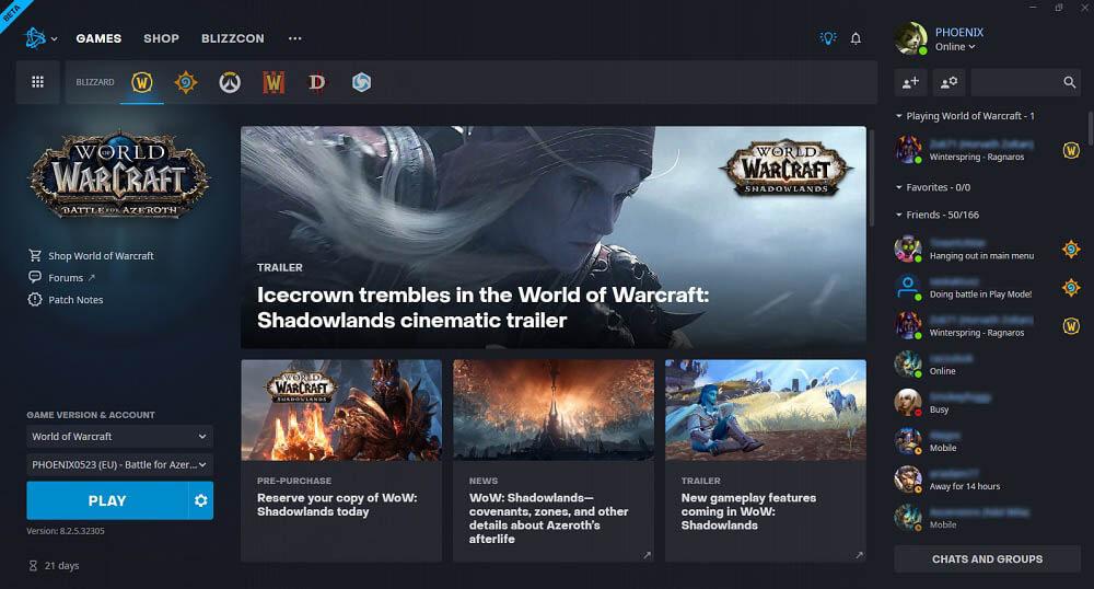 Battle.Net App beta