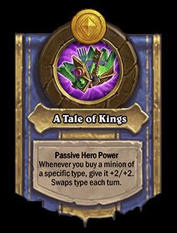 A Tale of Kings