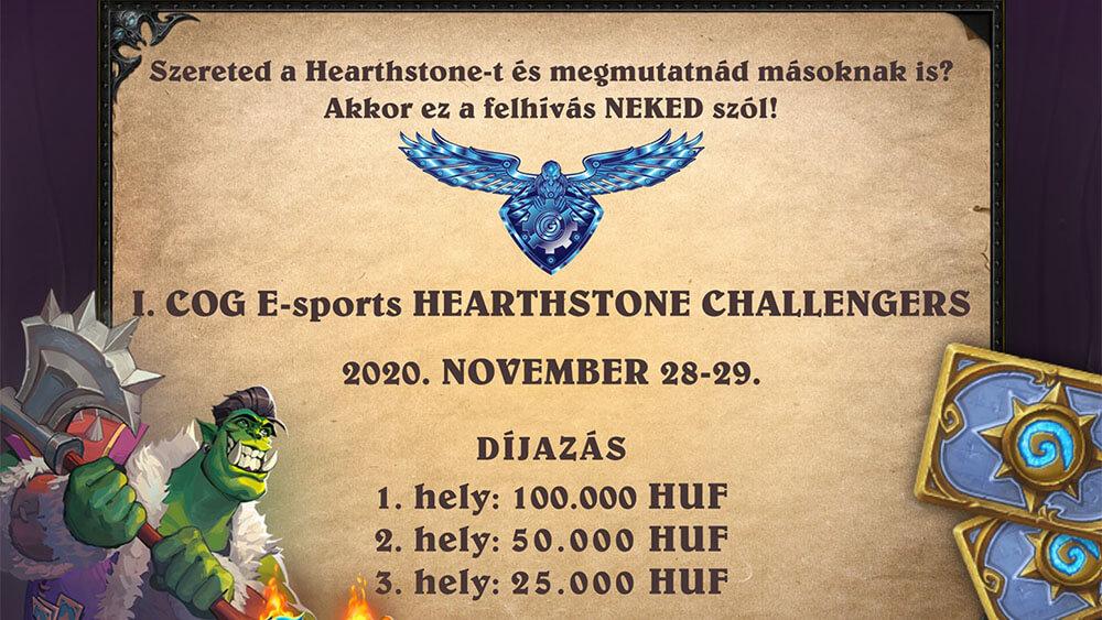 COG Esport Hearthstone verseny
