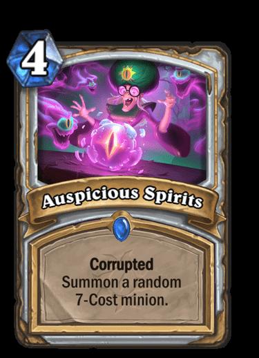 Auspicious Spirits Corrupted