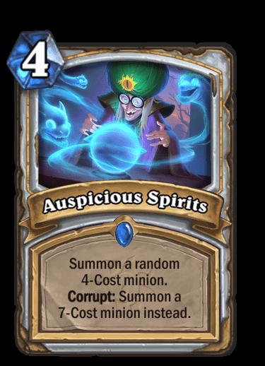 Auspicious Spirits