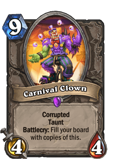 Carnival Clown Corrupted