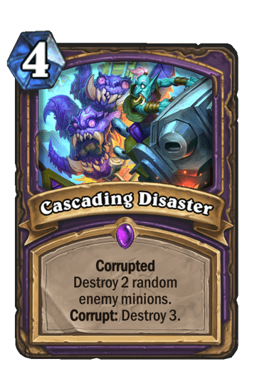 Cascading Disaster Corrupted