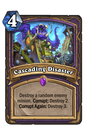 Cascading Disaster