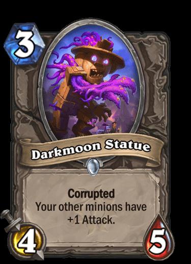 Darkmoon Statue Corrupted