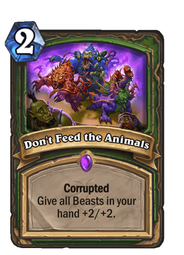 Dont Feed the Animals Corrupted