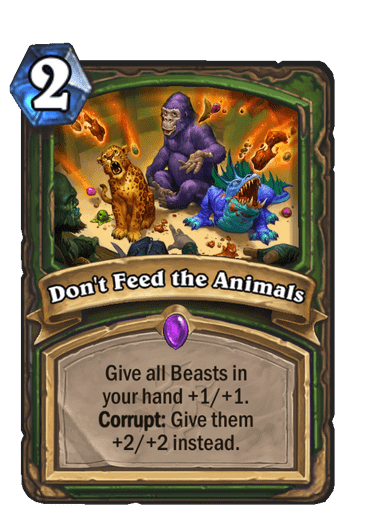 Dont Feed the Animals