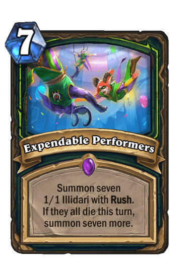 Expendable Performers