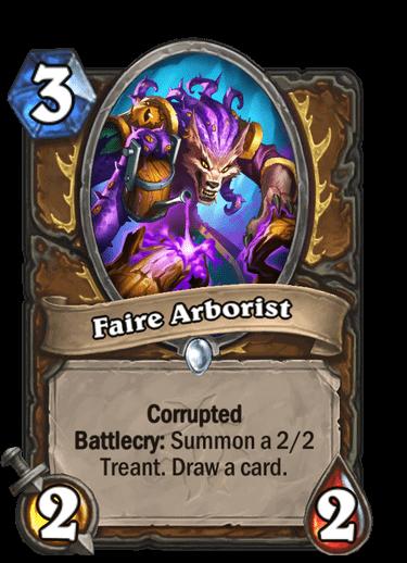 Faire Arborist Corrupted