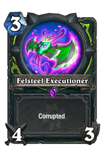 Felsteel Executioner Corrupted