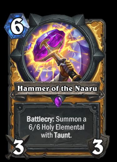 Hammer of the Naaru