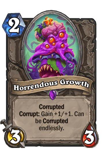 Horrendous Growth Corrupted
