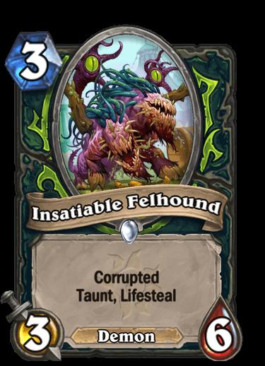 Insatiable Felhound Corrupted