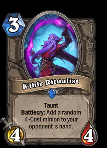 Kthir Ritualist