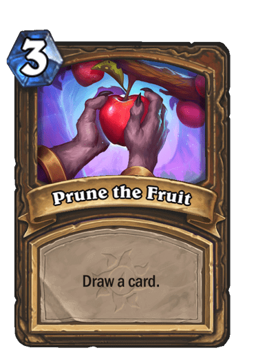 Prune the Fruit