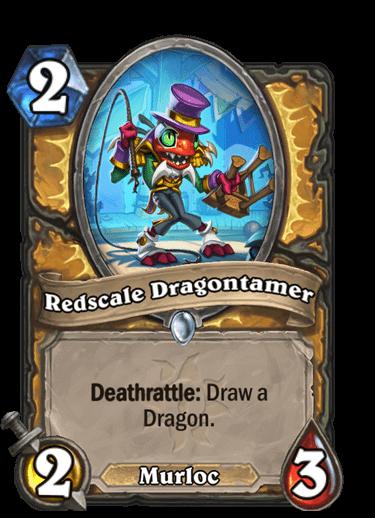 Redscale Dragontamer
