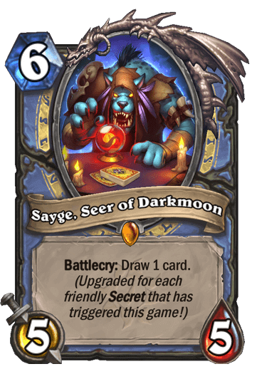 Sayge, Seer of Darkmoon