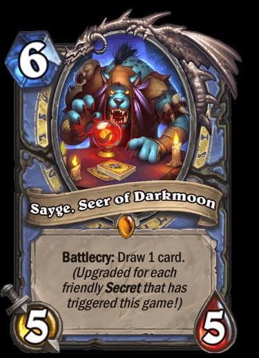 Sayge, Seer of Darkmoon