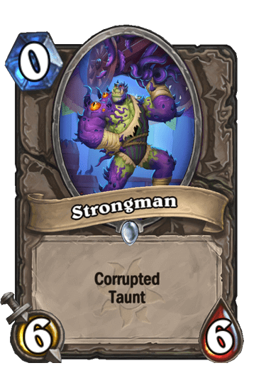 Strongman Corrupted