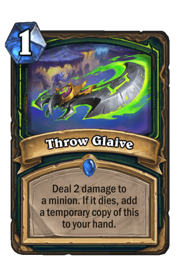 Throw Glaive