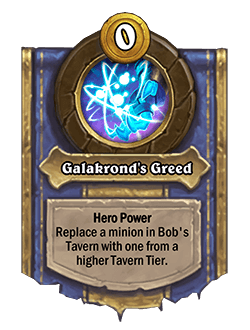 Galakronds Greed