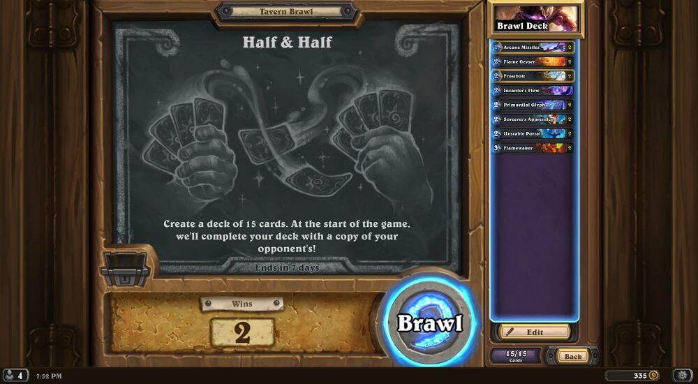 Half & Half Tavern Brawl