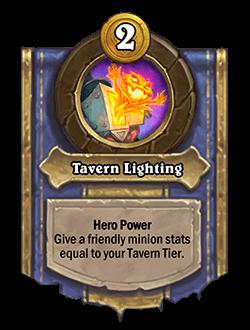 Tavern Lighting